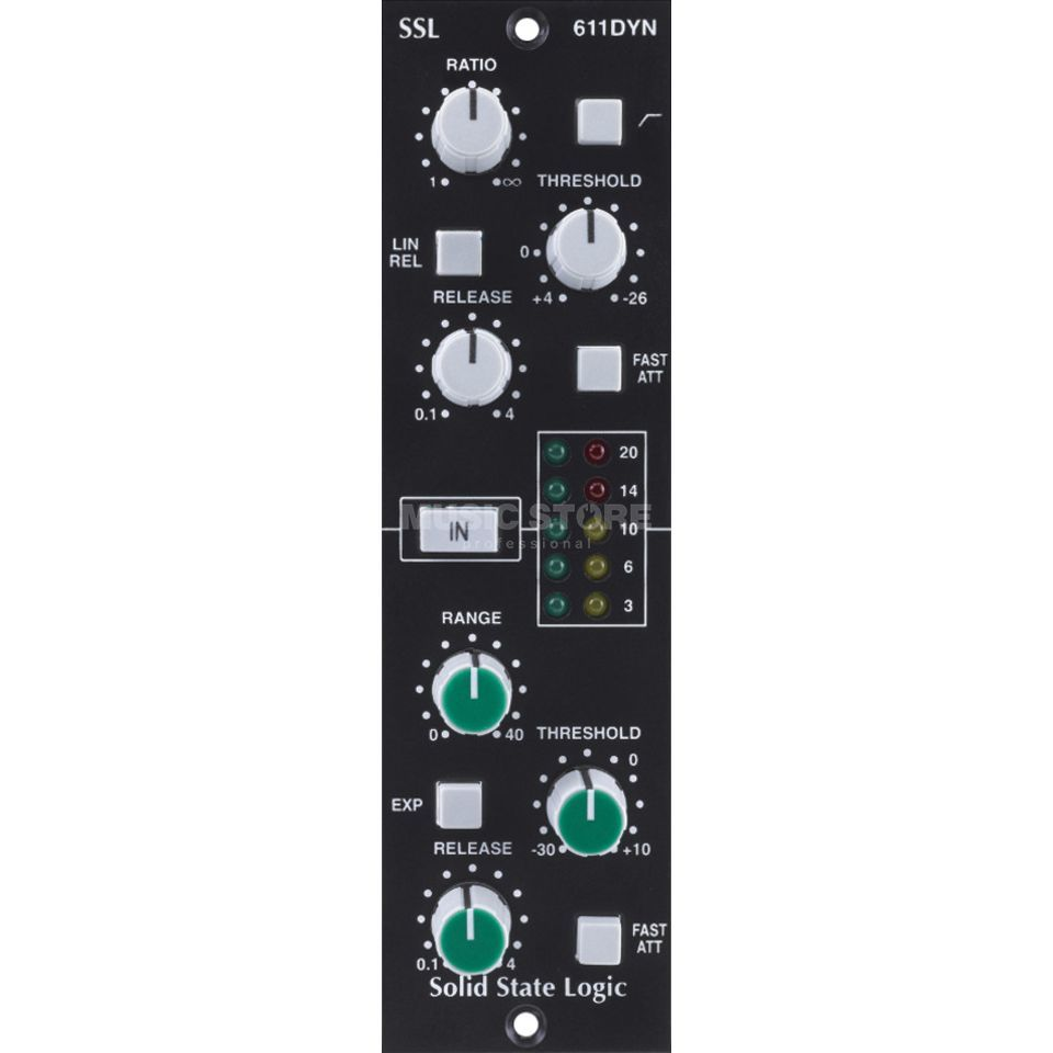 SSL Solid State Logic E-Series Dynamics Module for the 500 Series Produktbillede