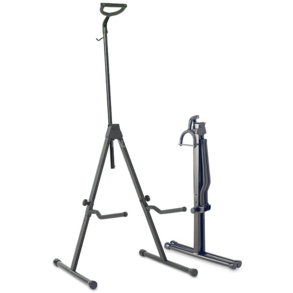 Stagg SV-CE Cello Stand Black, with Mount for Bow Produktbillede