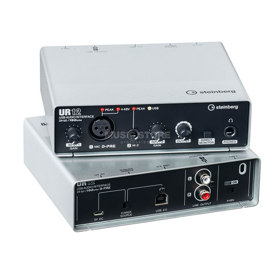 Steinberg UR12 USB Audio-Interface Produktbillede