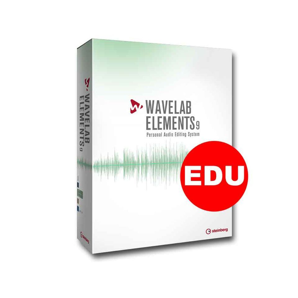 Steinberg Wavelab Elements 9.5 EDU Image du produit