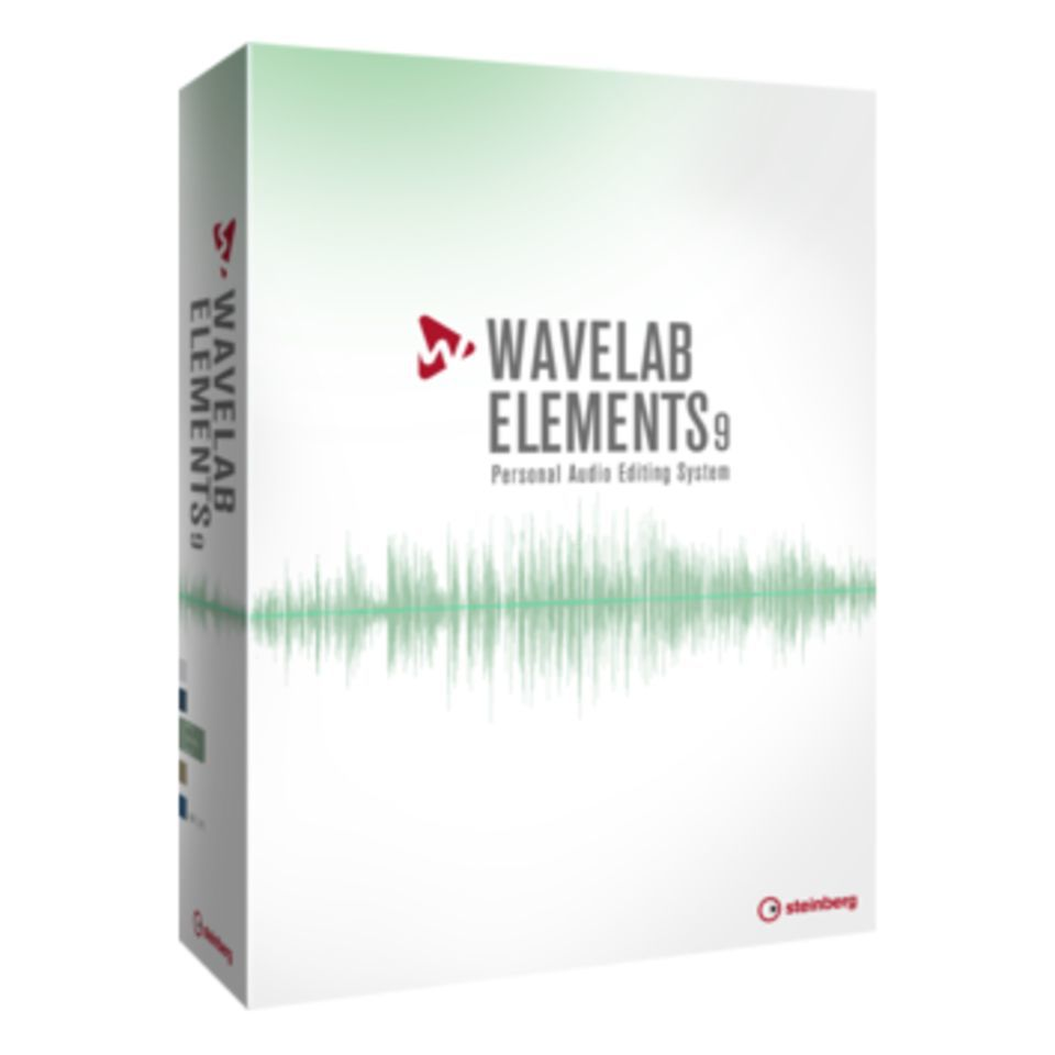 Steinberg Wavelab Elements 9 Produktbild
