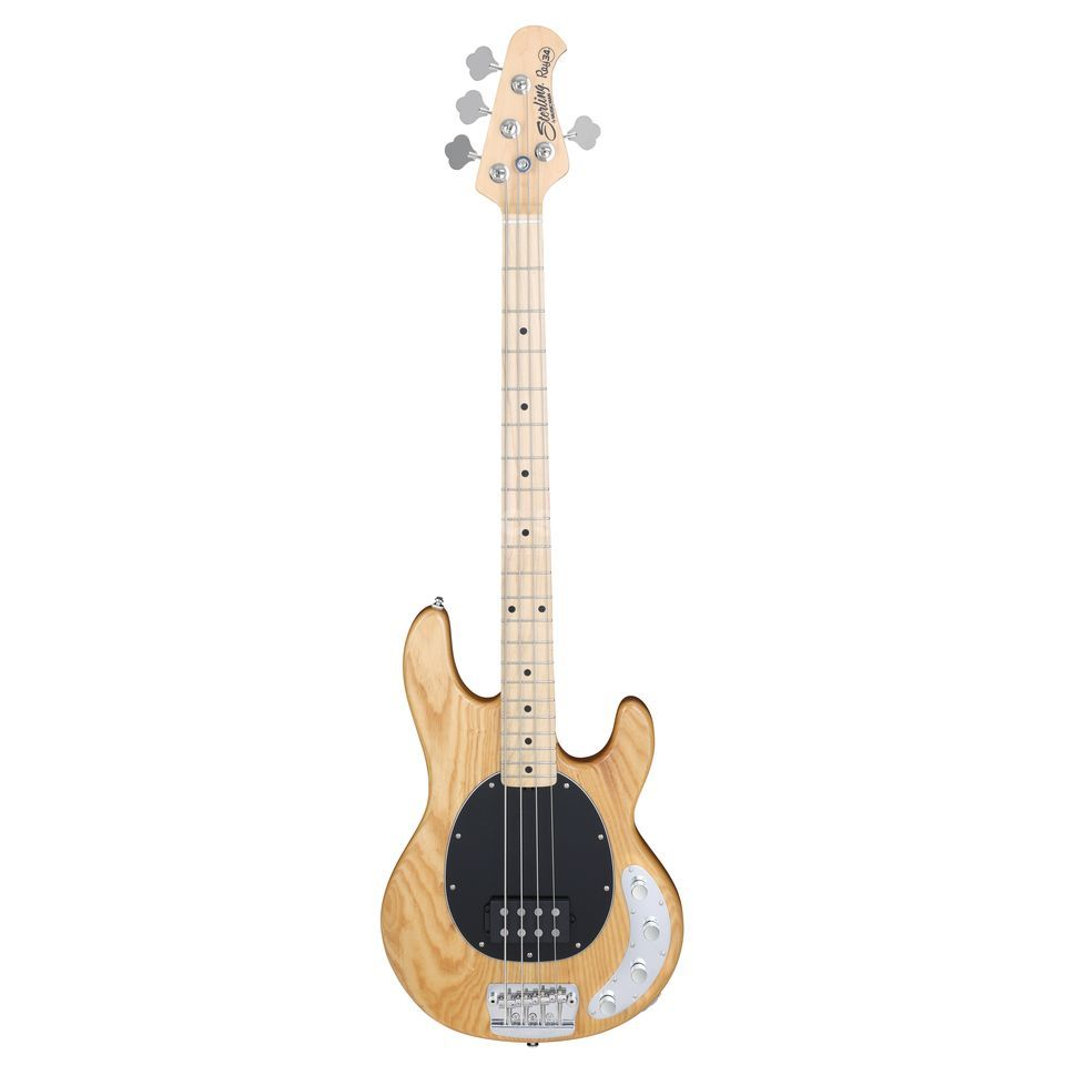 Sterling by Music Man Ray34 Bass Guitar, Natural    Produktbillede