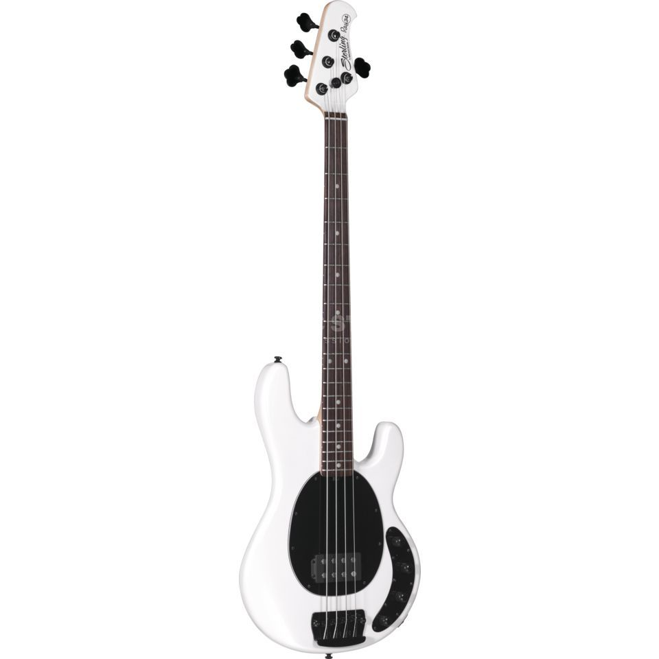 Sterling by Music Man StingRay RAY34 RW Pearl White Product Image
