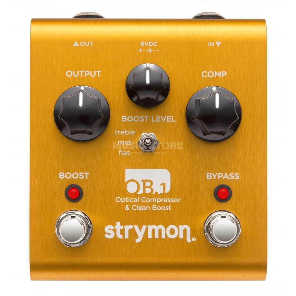 Strymon OB.1 Bass Modification Optical Compressor & Clean Boost Product Image