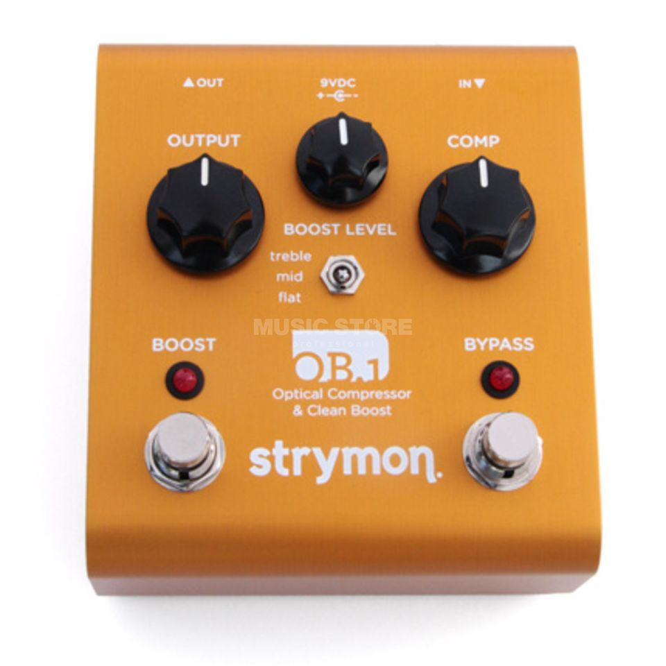 Strymon OB.1 Optical Compressor & Clea n Boost Guitar Effects Pedal   Produktbillede