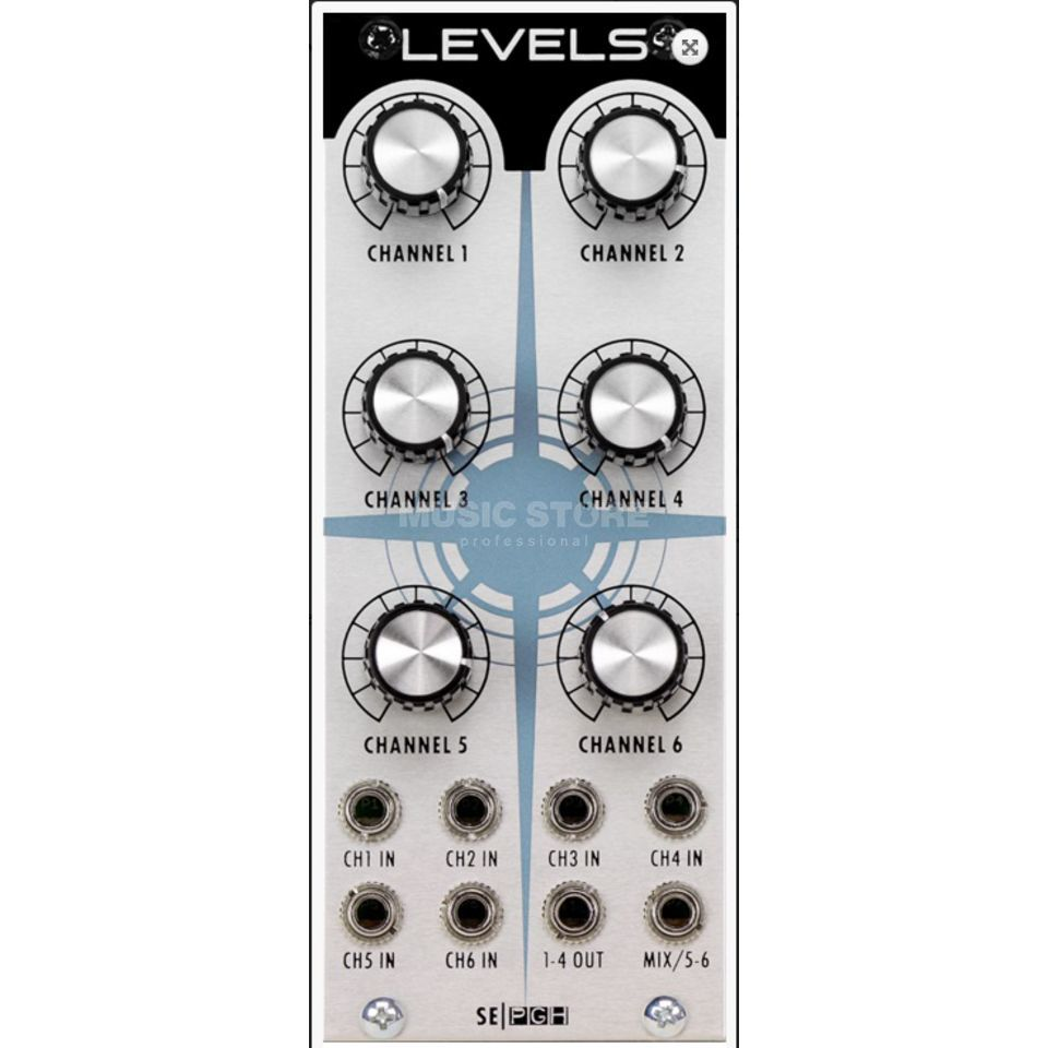 Studio Electronics Levels Mixer 6 Channel flexible Mixer Immagine prodotto