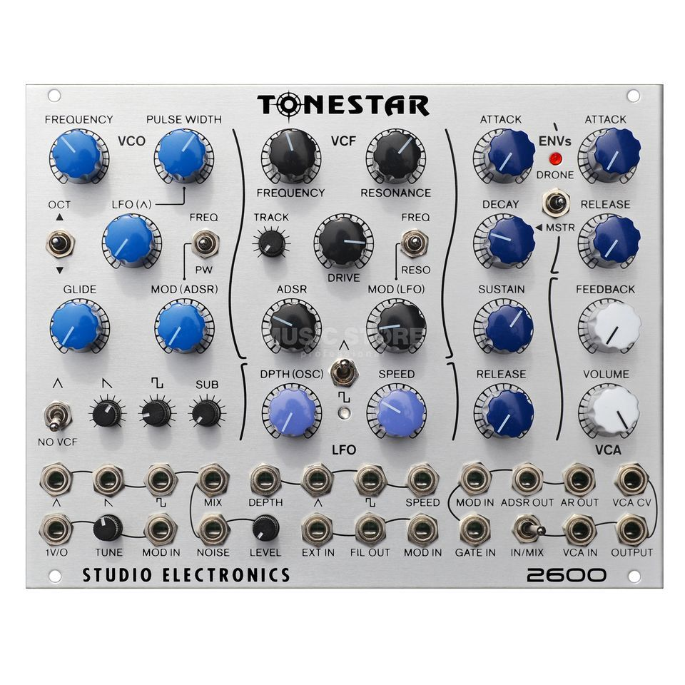 Studio Electronics ToneStar 2600 Complete Synthvoice in 32HP Product Image