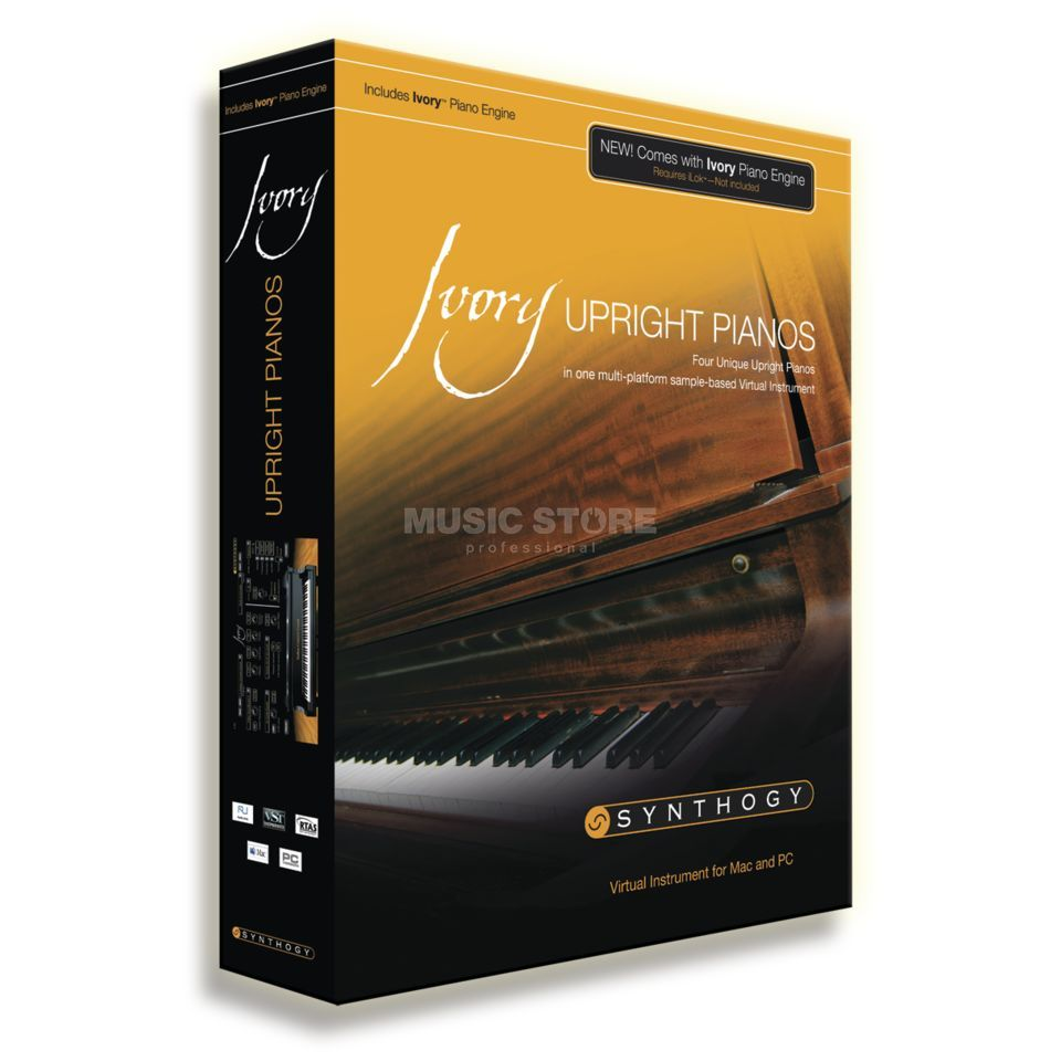 Synthogy Ivory Upright Pianos (iLok key erforderlich!) Produktbild