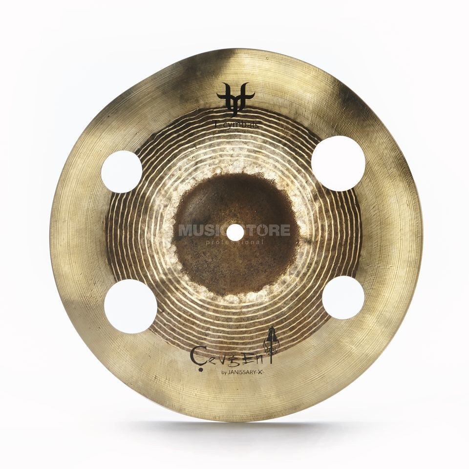 "T-Cymbals Janissary-X Cevgen 12"" Product Image"