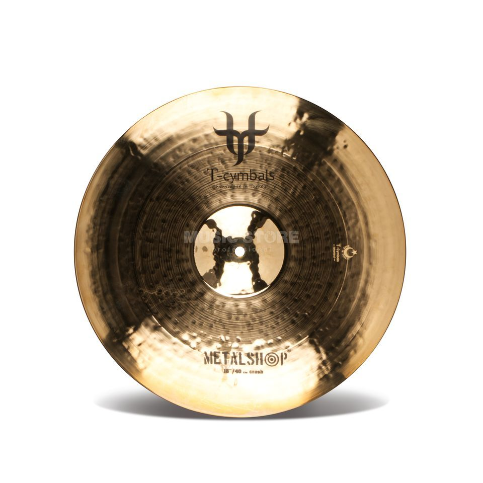"T-Cymbals Metalshop Crash 16"" Product Image"