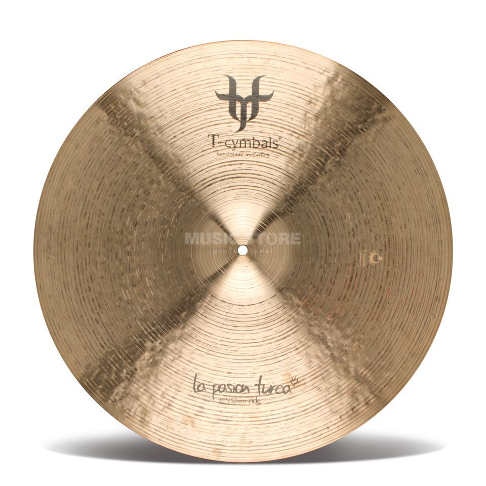 "T-Cymbals Pasion Turca Ride 21""  Produktbillede"