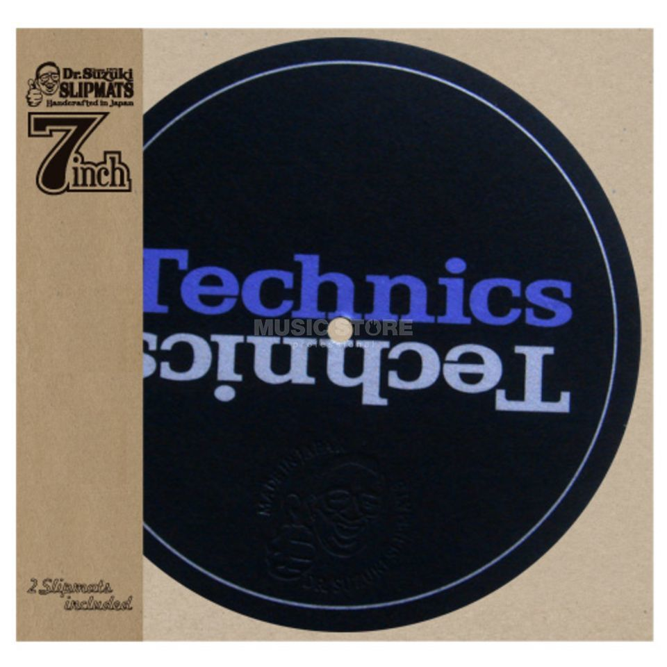 "Tablecloth Dr. Suzuki 7"" Mix Edition Slipmats Technics (paar) Image du produit"