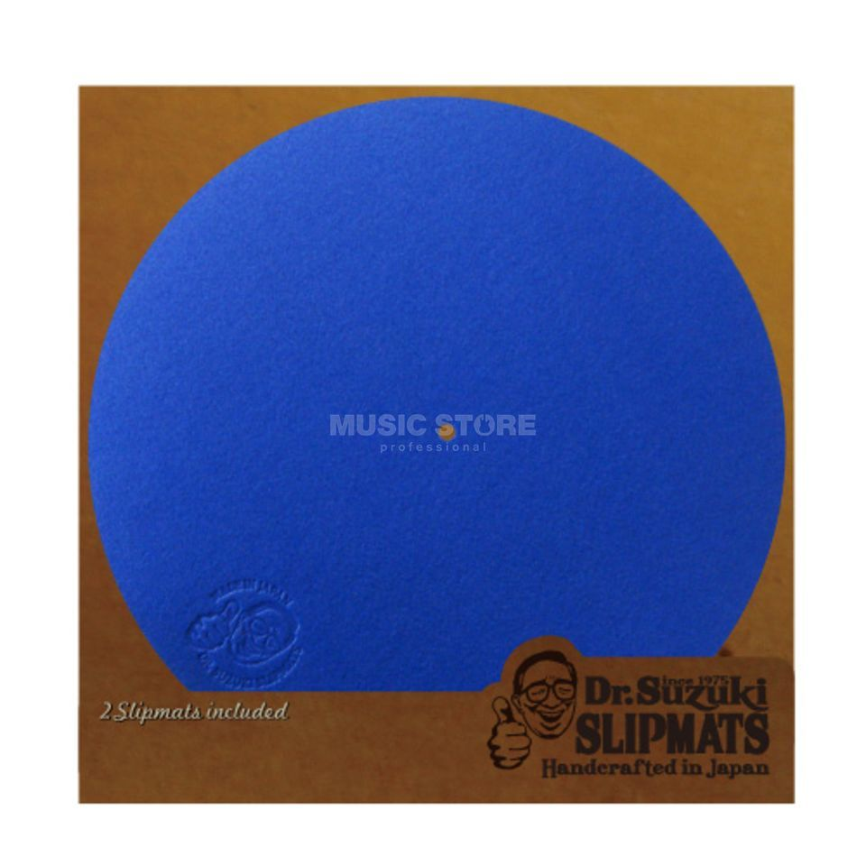 Tablecloth Dr.Suzuki Mix Edition Slipmats blue (paar) Produktbild