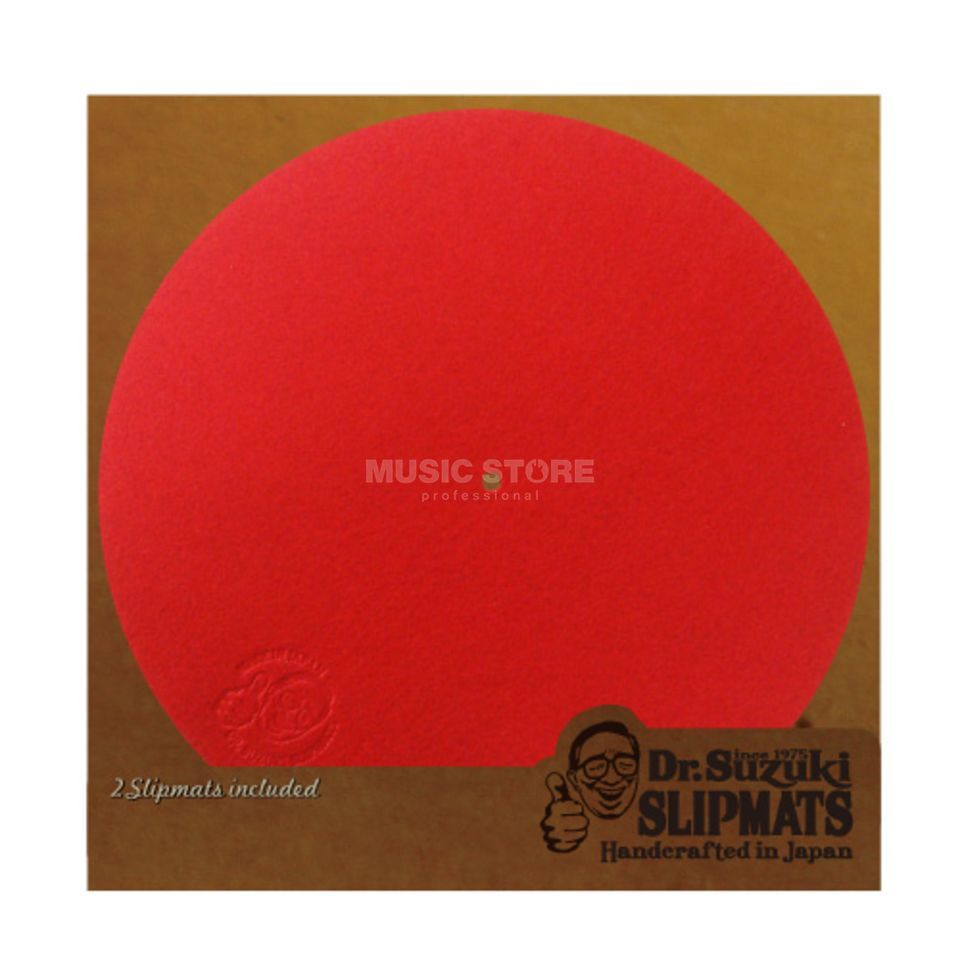 Tablecloth Dr.Suzuki Mix Edition Slipmats red (paar) Produktbild