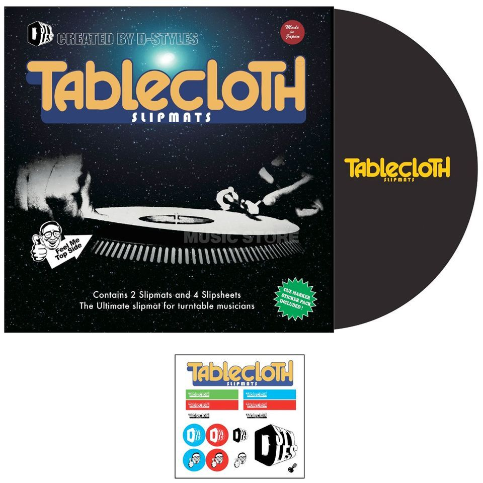 Tablecloth Slipmat D-Style, Version 3 (paar) Produktbild