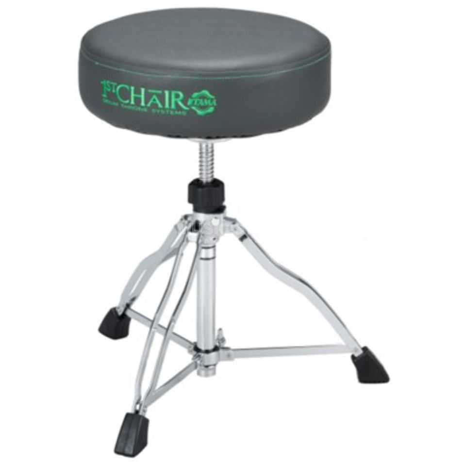 Tama Drum Throne HT430NDO 1st Chair Dark Olive, round Produktbillede