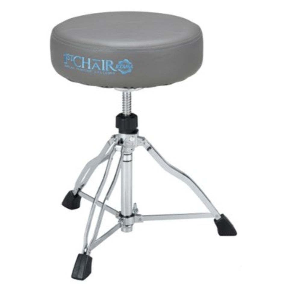 Tama Drum Throne HT430NSG 1st Chair Stone Gray, round Produktbillede