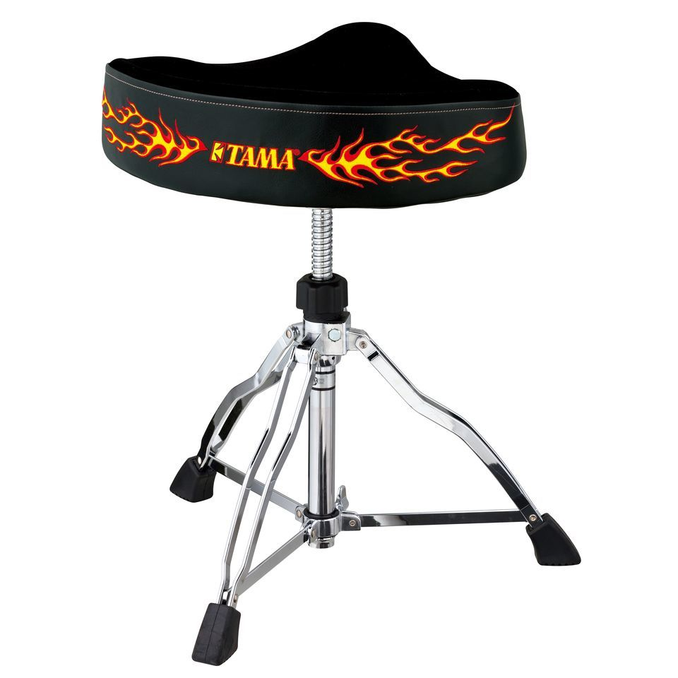 Tama Hocker FirstChair HT530CFE, Hot Seat Reissue, Flammen Produktbillede