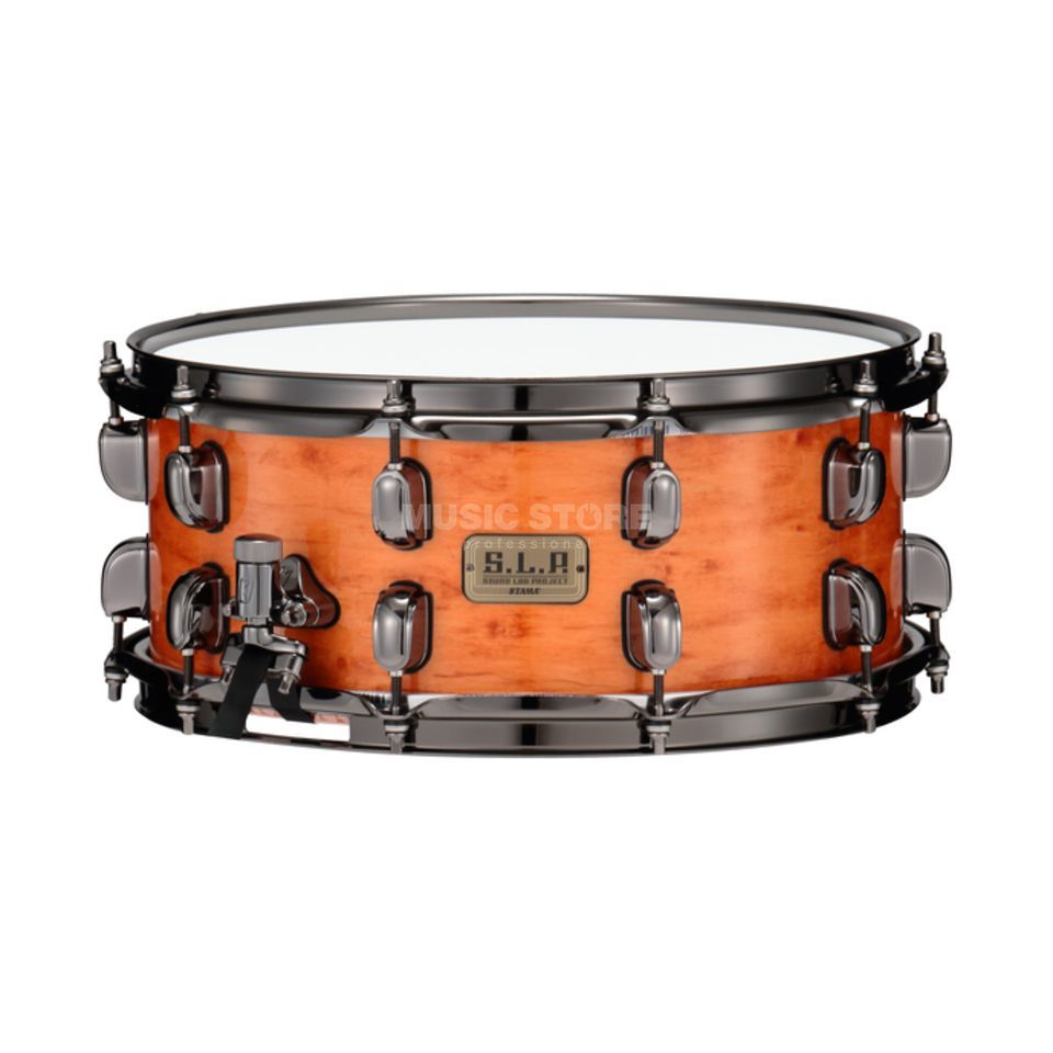"Tama LGM146G G-Maple S.L.P. Snare 14""x6"" Figured Vintage Maple Gloss Product Image"