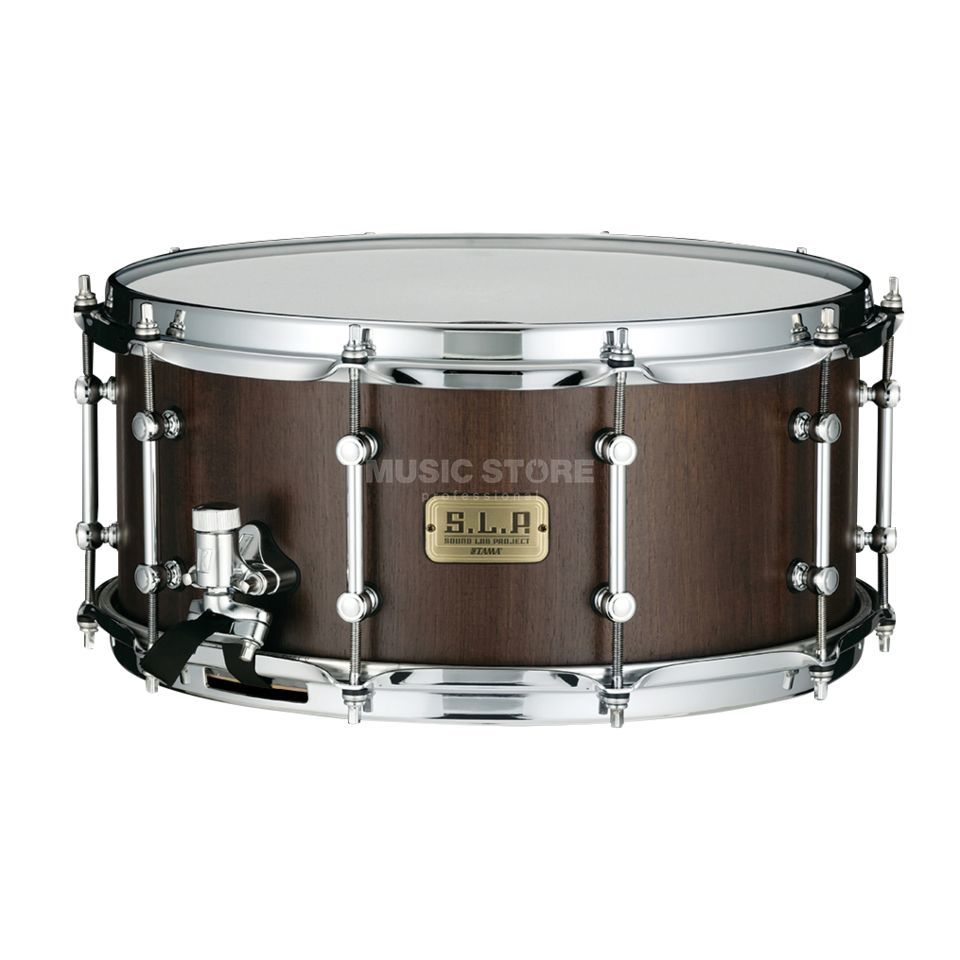 Tama LGW1465-MBW Snare Drum Matte Black Walnut Product Image