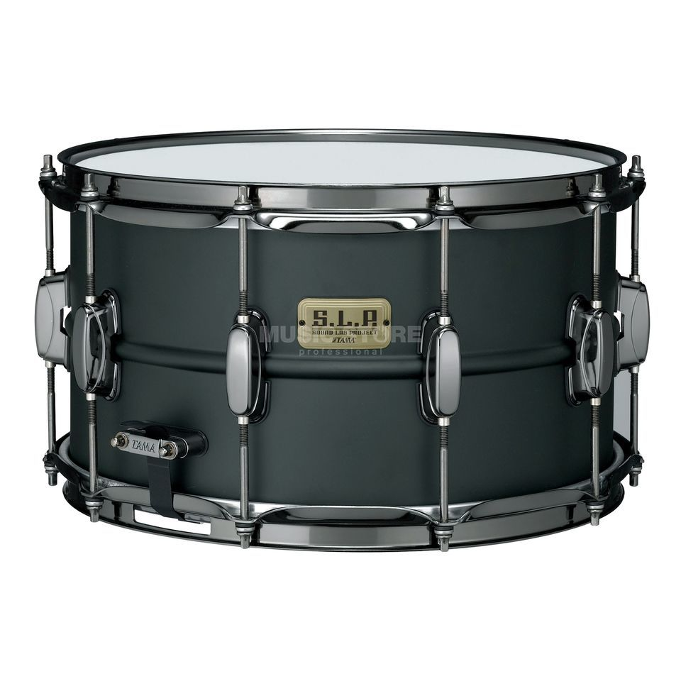 Tama S.L.P. Snare LST148, Big Black Steel Product Image