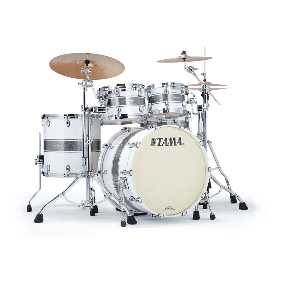 Tama SC Maple MA42TZS, Silver Snow Racing Stripe #SSR Produktbillede