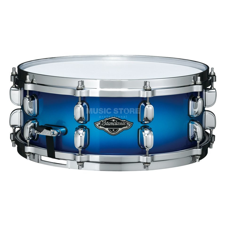 "Tama SC Performer B/B Snare PPS55, Twilight Blue Burst, 14""x5.5"" Product Image"
