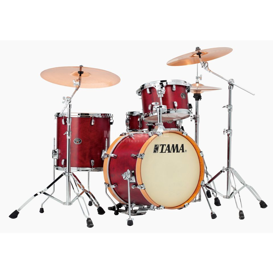 Tama Silverstar Custom VP48 Limited Satin Dark Cherry #SDC B-Stock Produktbillede