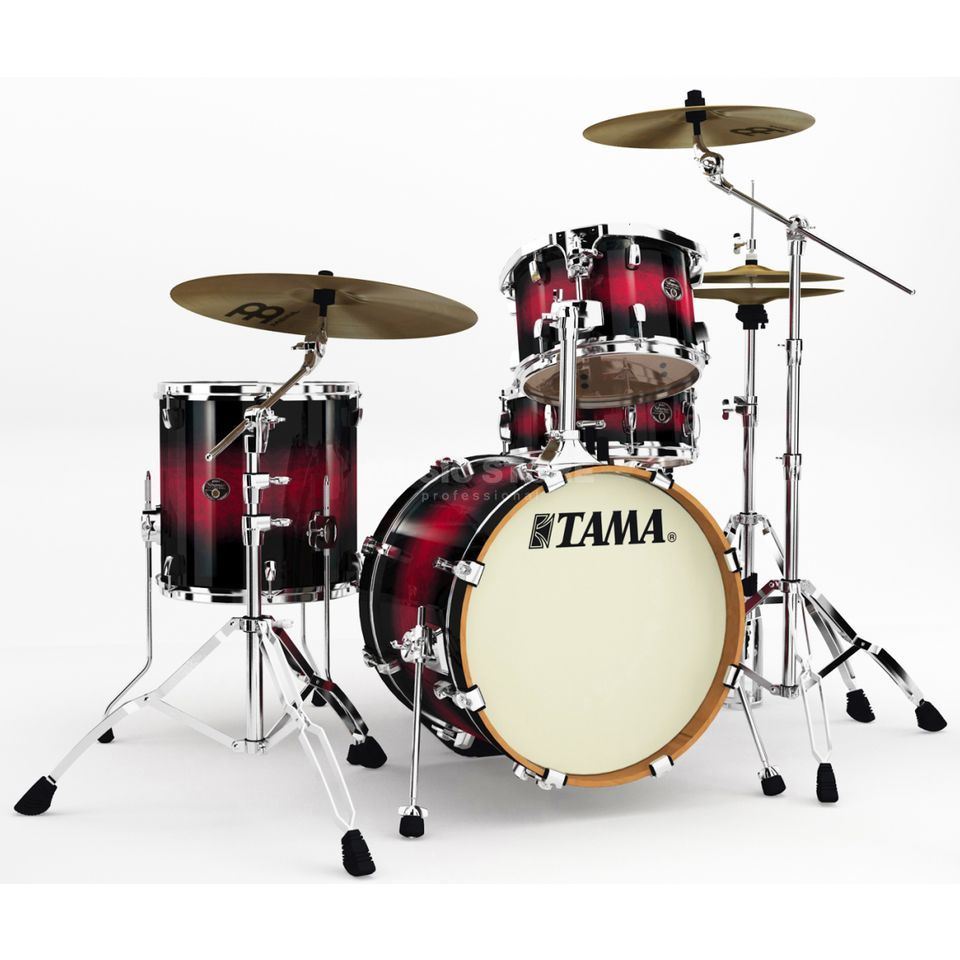 Tama Silverstar Custom VP48, Transparent Red Burst #TRB Produktbild