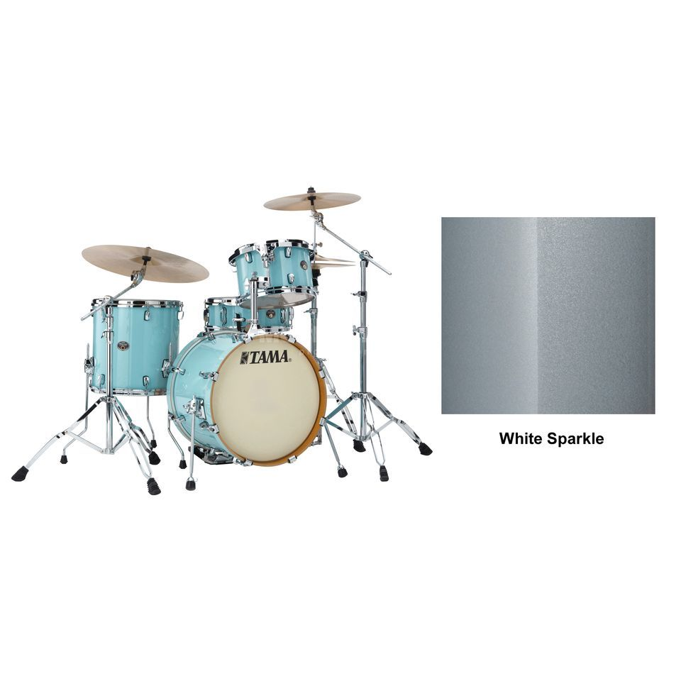 Tama Silverstar VD48, White Sparkle #WSP Product Image