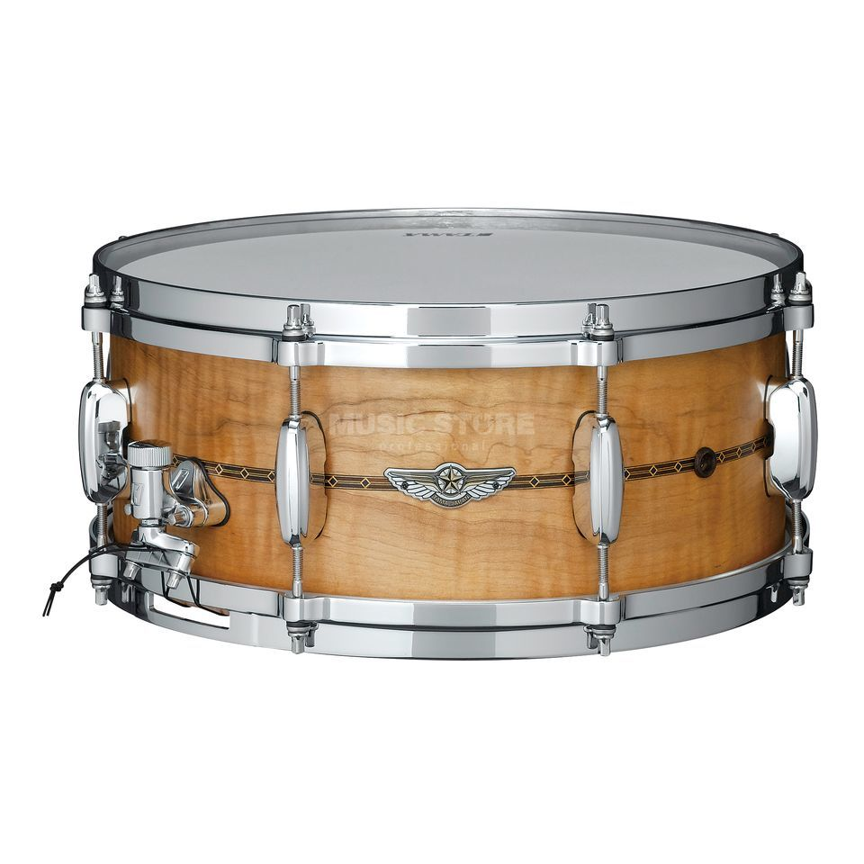 Tama Star Solid Snare TLCM146S-OCM, Oiled Natural Curly Maple Produktbild