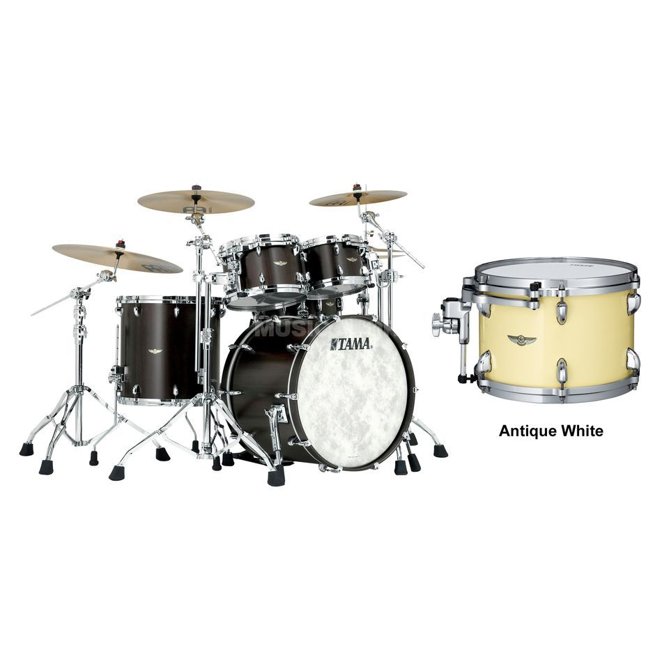 Tama Star Walnut ShellSet TW42RZS, Antique White #ATW Produktbillede