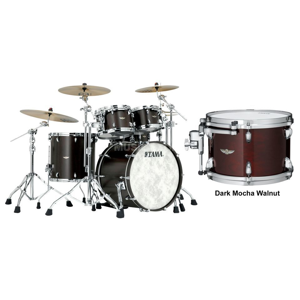 Tama Star Walnut ShellSet TW42RZS, Dark Mocha Walnut #DMW Product Image