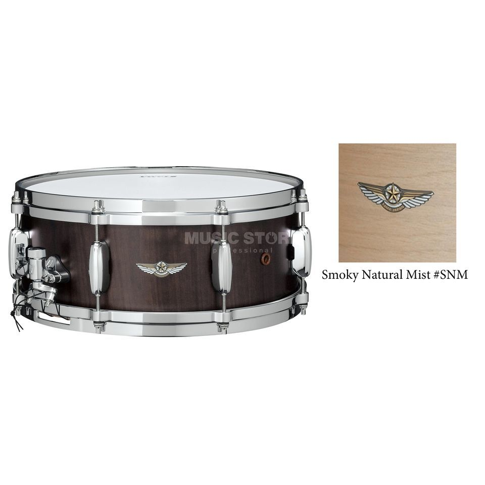 "Tama Star Walnut Snare TWS1465, Smoky Natural Mist, 14""x6,5"" Produktbild"