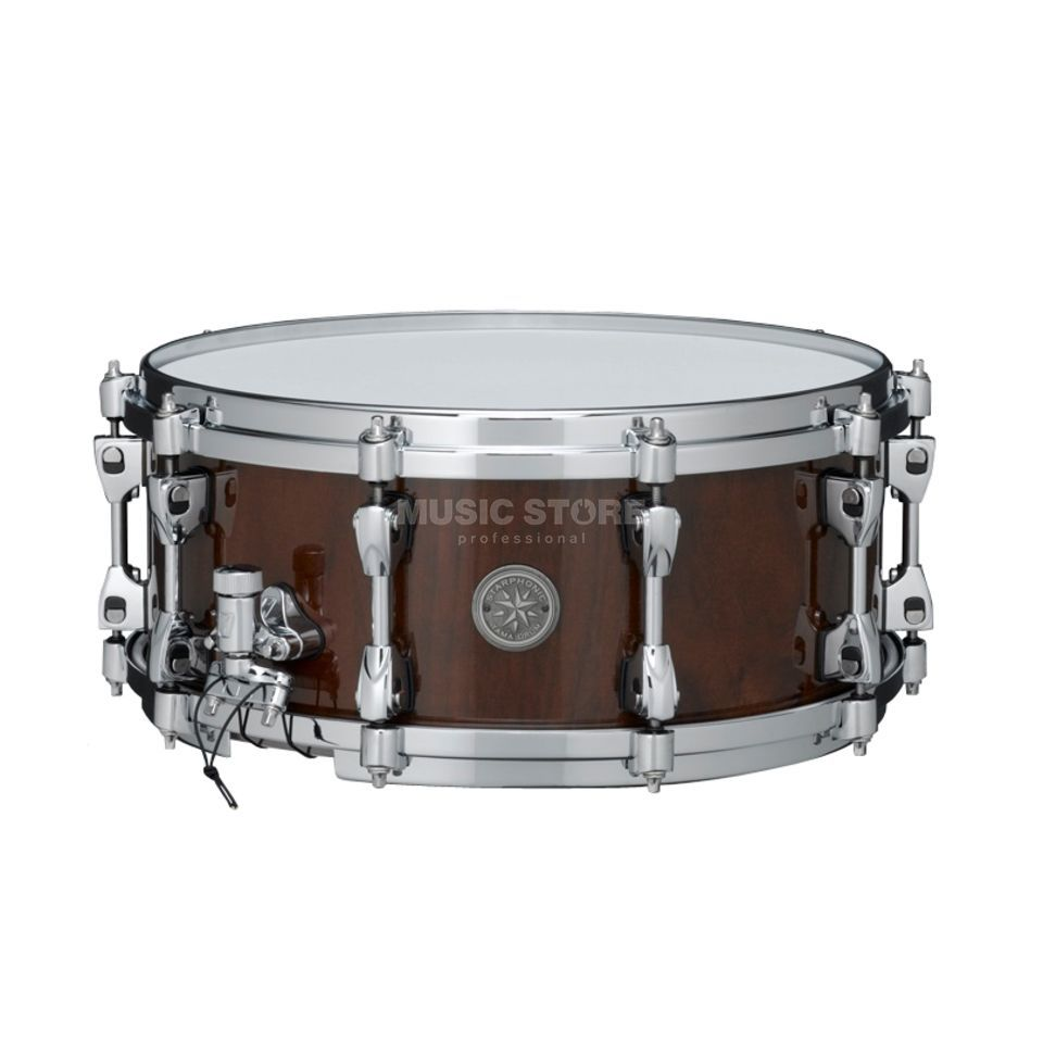"Tama Starphonic Snare PWN146-NWN, 14""x6"", Natural Walnut Produktbillede"