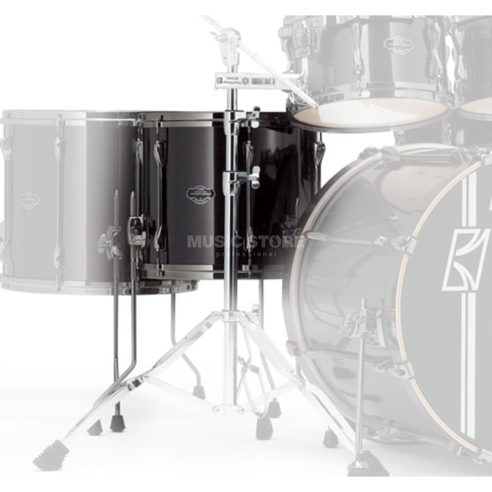 "Tama Superstar HD FloorTom 14""x12"", Brushed Charcoal Black #BCB Product Image"