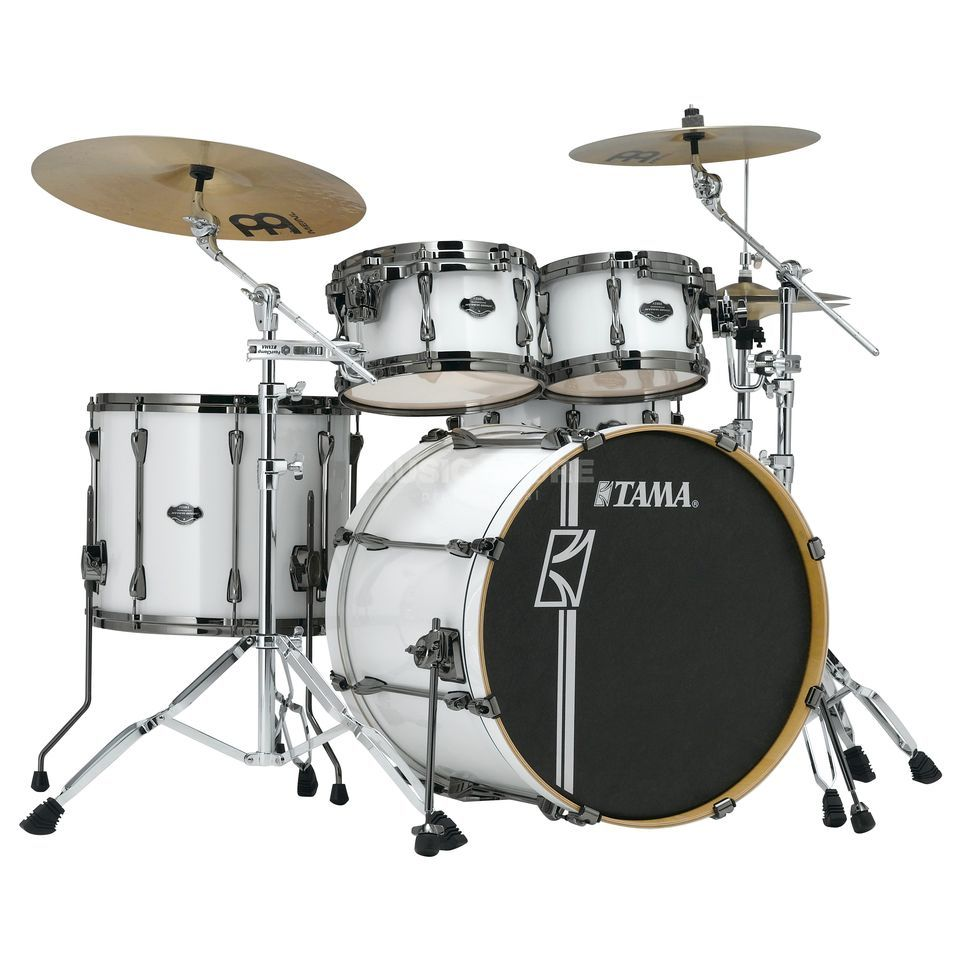 Tama Superstar HD Maple MK52HXZBN, Sugar White #SGW Produktbillede