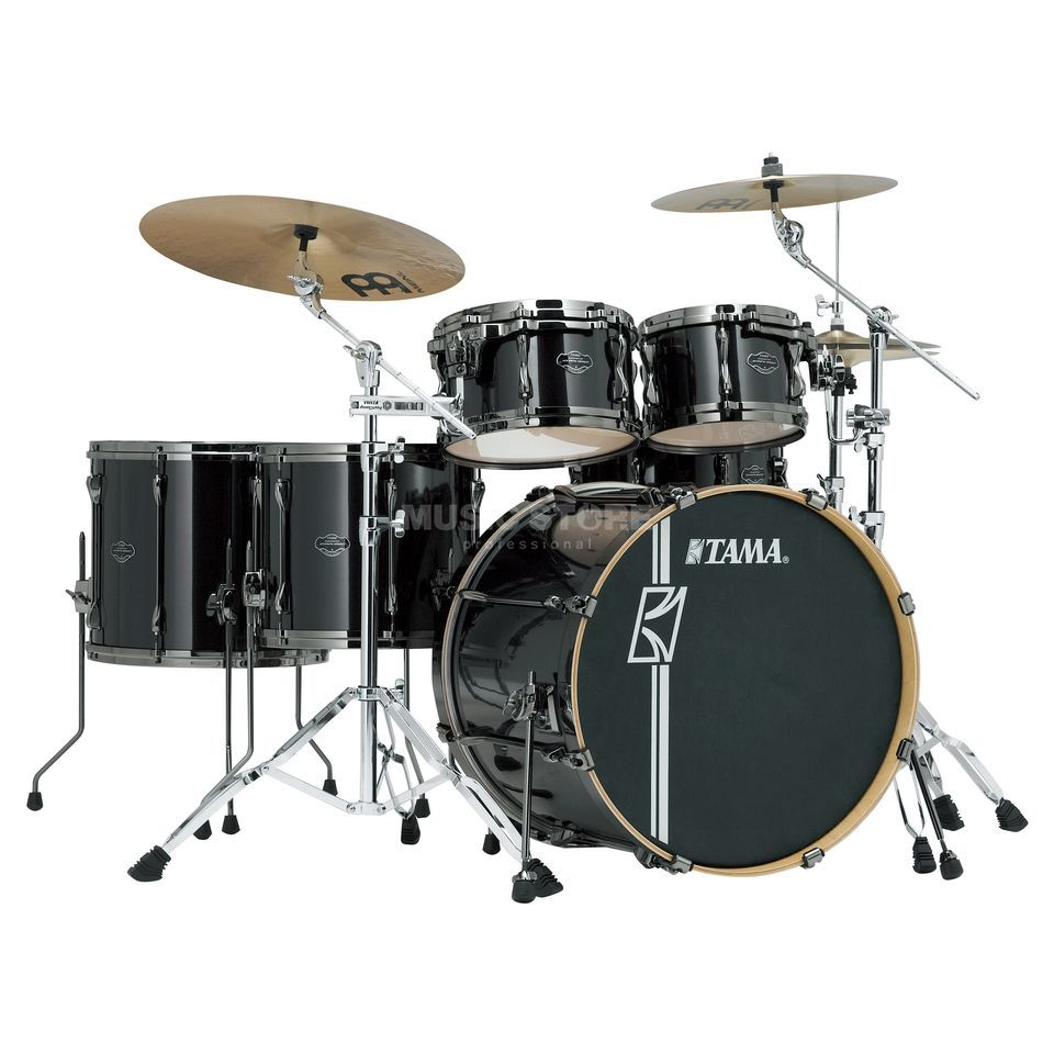 Tama Superstar HD Maple MK62HZBN, Brushed Charcoal Black #BCB Produktbillede