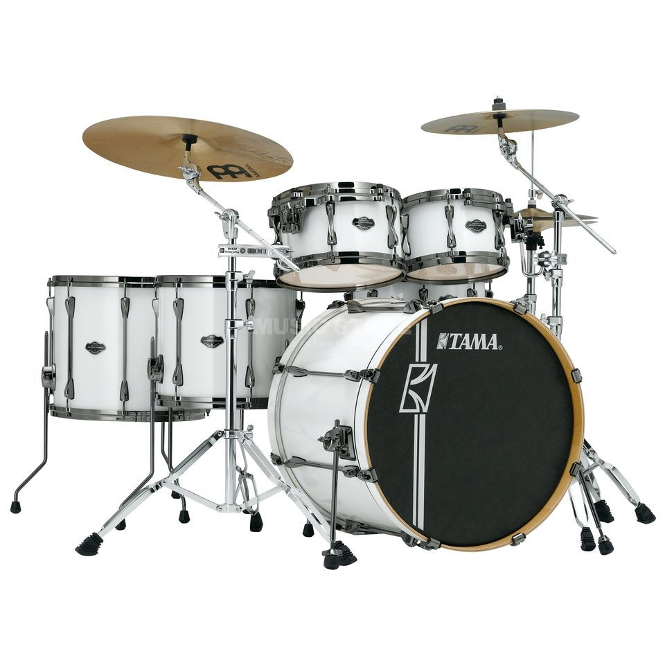 Tama Superstar HD Maple MK62HZBN, Sugar White #SGW Produktbillede