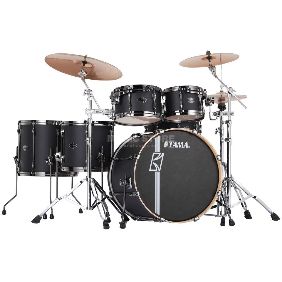 Tama Superstar HD Maple ML52HZBN, Flat Black, FBK Product Image