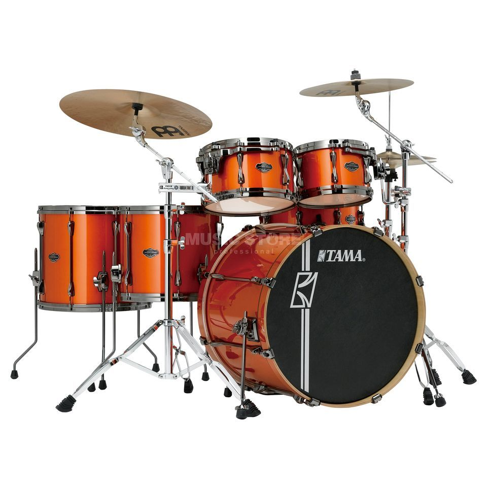 Tama Superstar HD Maple ML62HZBN, Bright Orange Metallic #BOM Produktbild