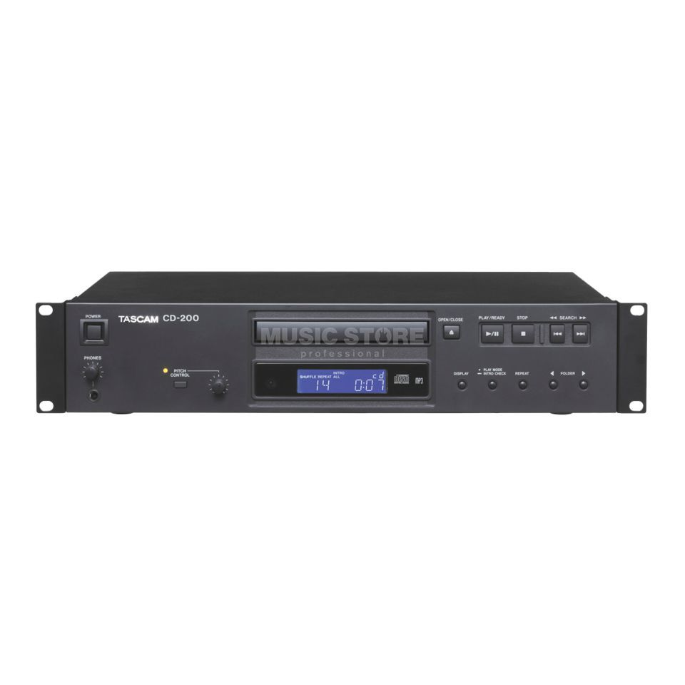 Tascam CD-200 CD Player, MP3/WAV Produktbillede