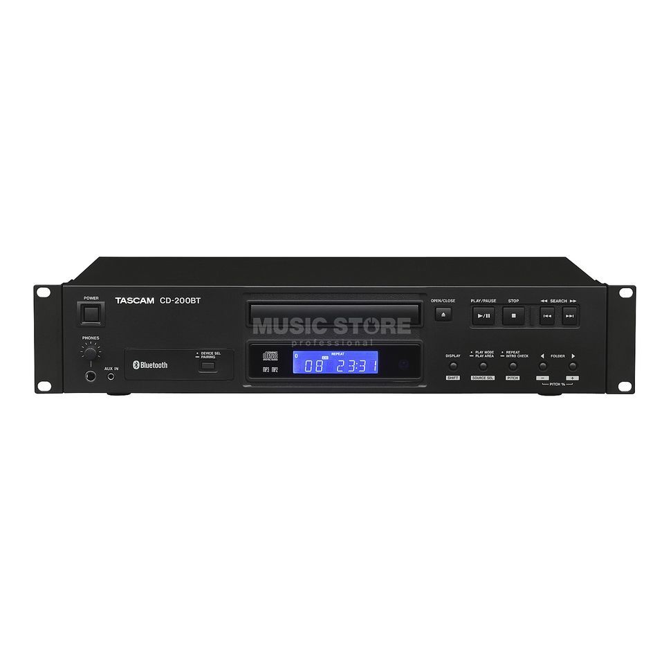Tascam CD-200BT CD-Player with Bluetooth-Reciever Produktbillede