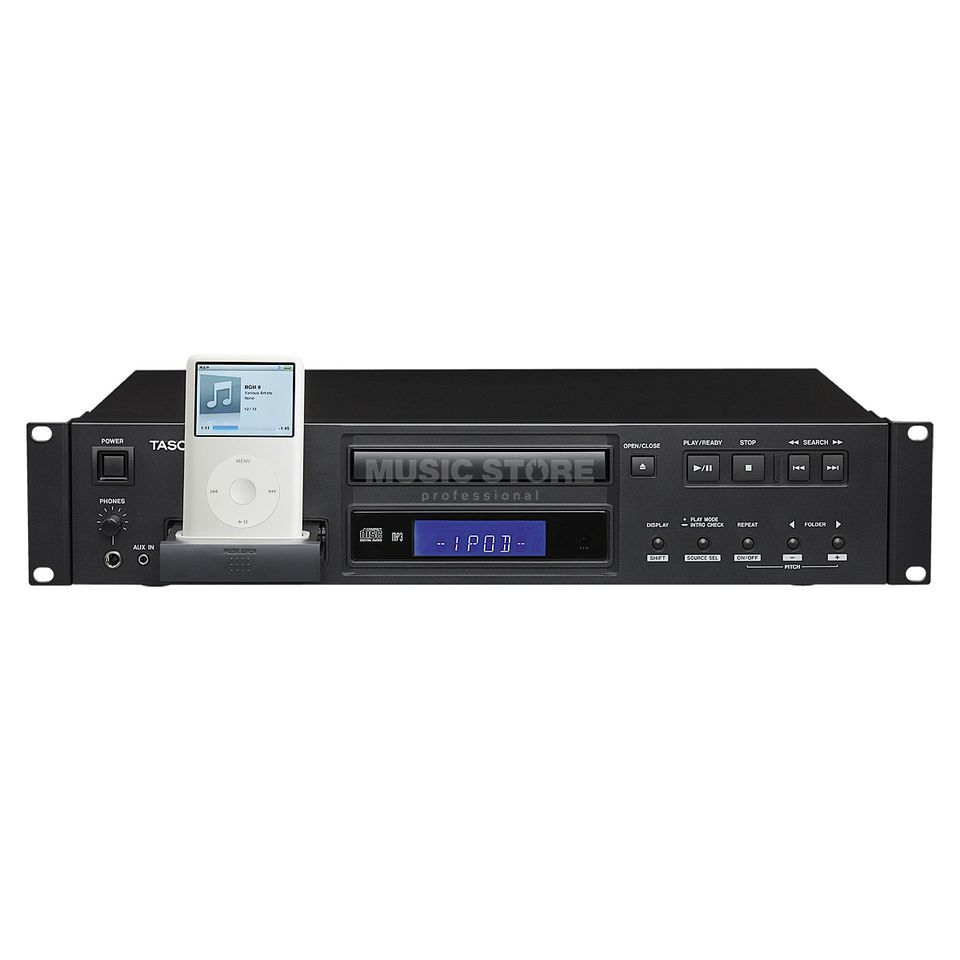 Tascam CD-200iB CD Player with iPod Dock Produktbillede