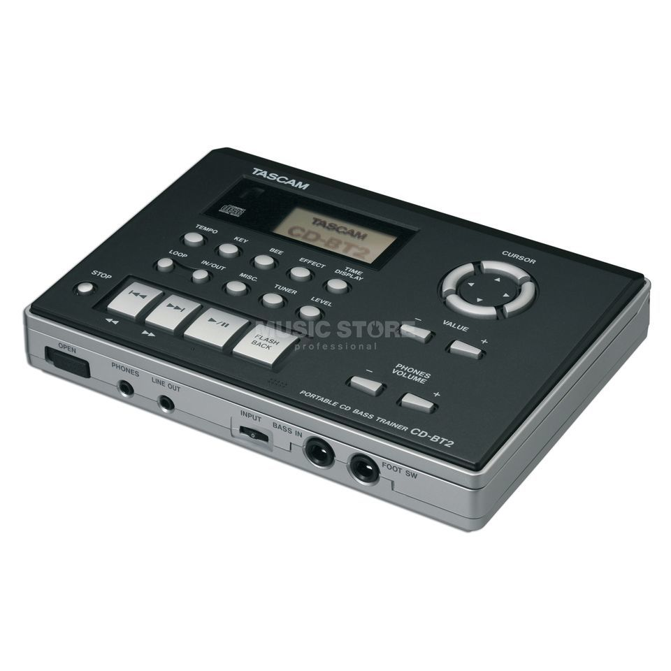 Tascam CD-BT2 Portable CD Bass Trainer Produktbillede
