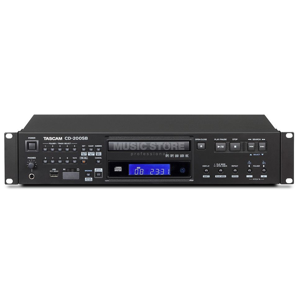 Tascam CD200SB Rackmount CD Player    Product Image