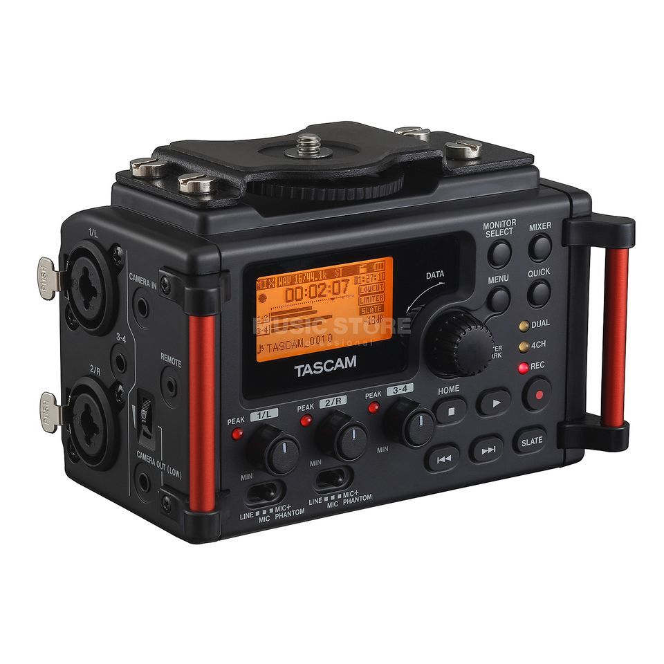 Tascam DR-60D MKII Recorder for DSLR Kameras Product Image