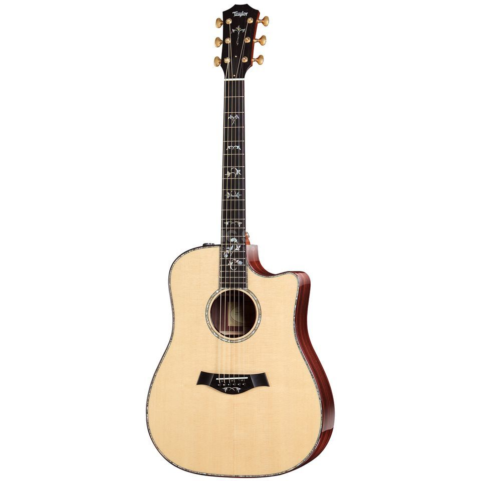 Taylor 910ce Dreadnought Natural Produktbillede