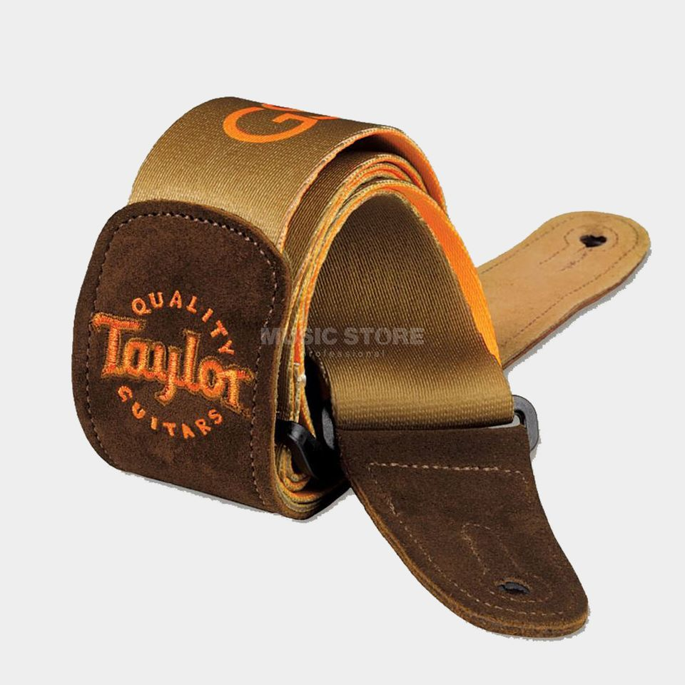 Taylor GS Mini Guitar Strap Brown Signature Brown Produktbild