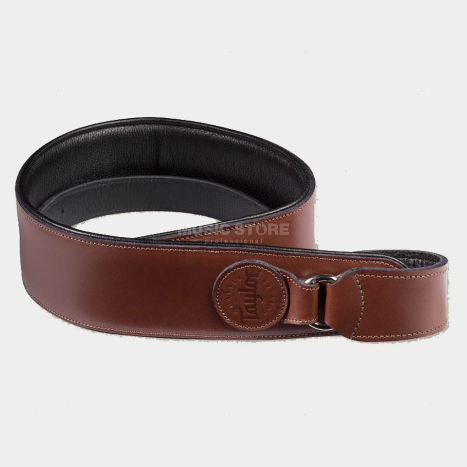 Taylor Leather Badge Strap Brown Produktbillede